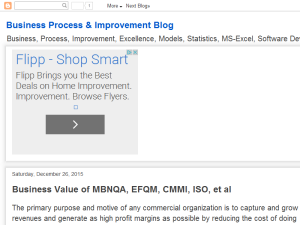 Business Process & Improvement Blog Blogging Fusion Blog Directory