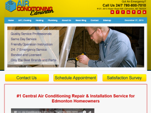 Air Conditioning Edmonton : Blogging Fusion Blog Directory