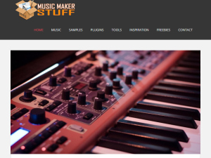 Music Maker Stuff Blogging Fusion Blog Directory