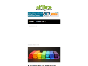 Affiliate Marketing Journal | Affiliate Marketing Guide Blogging Fusion Blog Directory