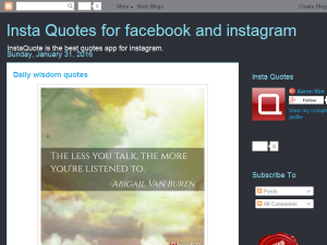 Insta Quotes for facebook and instagram