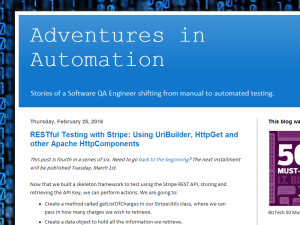 Adventures in Automation Blogging Fusion Blog Directory