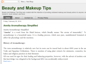 Beauty and Makeup Tips Blogging Fusion Blog Directory