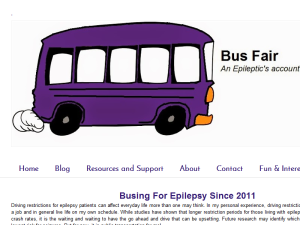 Bus Fair: An Epileptic's Account of Public Transit Blogging Fusion Blog Directory