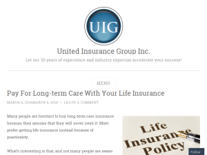 United Insurance Group Blogging Fusion Blog Directory