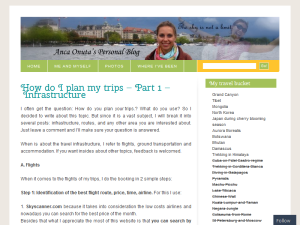 Anca Onuta Personal Travel Blog Blogging Fusion Blog Directory