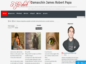 Damaschin James Robert Papa - Blog de Literatura