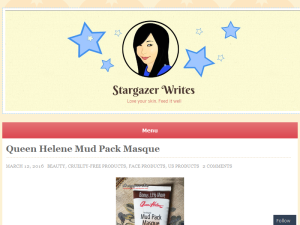 Stargazer Writes Blogging Fusion Blog Directory