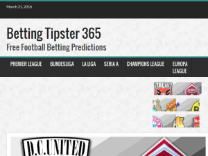 Betting Tipster 365 - Free Football Betting Predictions Blogging Fusion Blog Directory