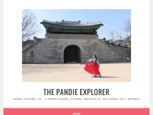 The Pandie Explorer Blogging Fusion Blog Directory