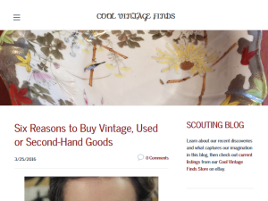 Cool Vintage Finds Scouting Blog