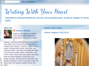Writing With Your Heart Blogging Fusion Blog Directory