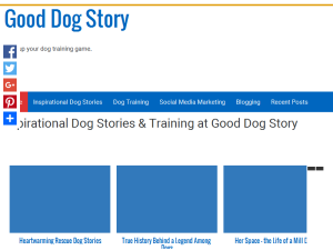 Good Dog Story Blogging Fusion Blog Directory