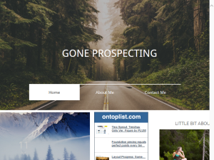 Gone Prospecting Blogging Fusion Blog Directory