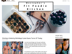 Westopher's Fit Foodie Kitchen Blogging Fusion Blog Directory