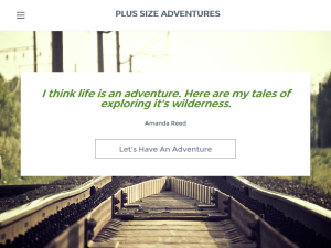 PLUS SIZE ADVENTURES