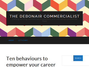 The Debonair Commercialist Blogging Fusion Blog Directory