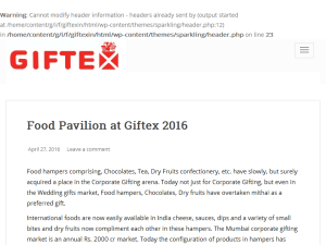 Official Giftex Blog Blogging Fusion Blog Directory