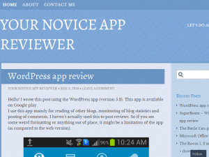 Your Novice App reviewer Blogging Fusion Blog Directory