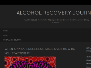 Alcohol recovery journal Blogging Fusion Blog Directory