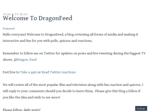 DragonFeed Entertainment
