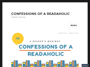 Confessions of a Readaholic Blogging Fusion Blog Directory