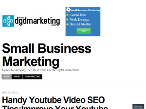 Small Business Marketing Blogging Fusion Blog Directory