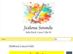 Jealous Sounds Blogging Fusion Blog Directory