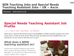 Axcis Special Education Needs Recruitment