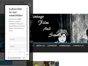 Vintage Film And Sound Blogging Fusion Blog Directory