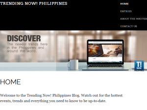 Trending Now Philippines Blogging Fusion Blog Directory