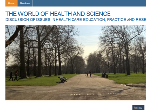 The world of health and science