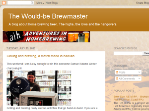 The Would-be Brewmaster