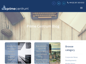 Prime Centrum Property Investment Blogging Fusion Blog Directory