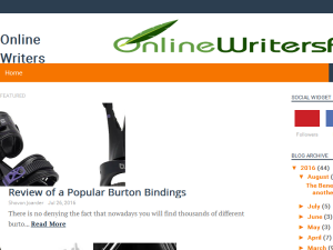 Online Writers Foum Blogging Fusion Blog Directory
