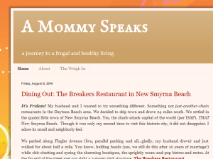 A Mommy Speaks Blogging Fusion Blog Directory