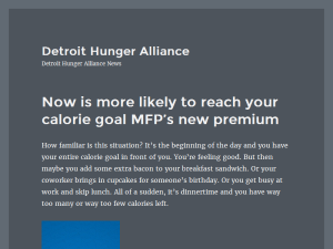 Detroit Hunger Alliance