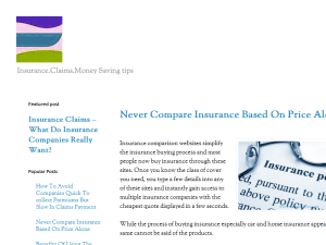 Insurance In Bold Prints Blogging Fusion Blog Directory