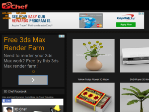 Free 3D Model Blogging Fusion Blog Directory