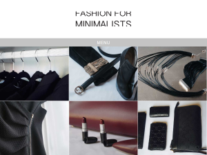 Fashion for Minimalists Blogging Fusion Blog Directory