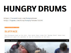HUNGRY DRUMS