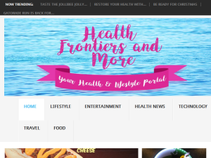 Health Frontiers and More Blogging Fusion Blog Directory
