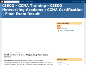 Cisco,CCNA Training,Cisco Networking Academy - CCNA Certification