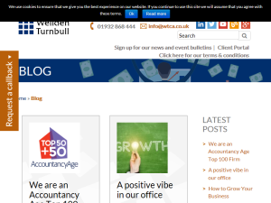 Wellden Turnbull Chartered Accountant Blog Blogging Fusion Blog Directory