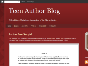 Teen Author Blog Blogging Fusion Blog Directory