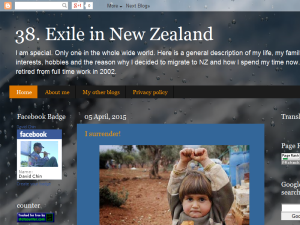 Exile in New Zealand Blogging Fusion Blog Directory
