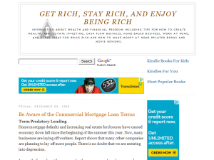 Get Rich, Stay Rich and Enjoy Being Rich
