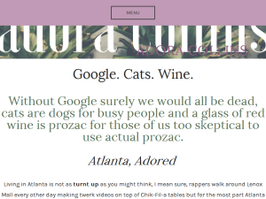 Google. Cats. Wine. This is Life in Your 20's Blogging Fusion Blog Directory
