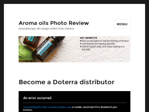 Become a Doterra distributor Blogging Fusion Blog Directory