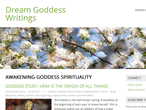 Dream Goddess Writings Blog & Studies Blogging Fusion Blog Directory